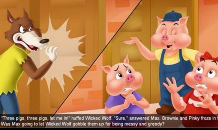 黎姐姐绘本阅读:《三只小猪的真实故事》