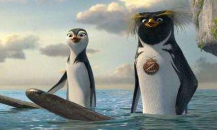 周六电影时光:《冲浪企鹅》2