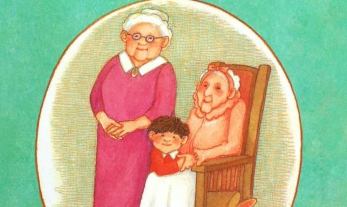 """""""黎姐姐""""绘本阅读:《楼上的外婆和楼下的外婆》"""