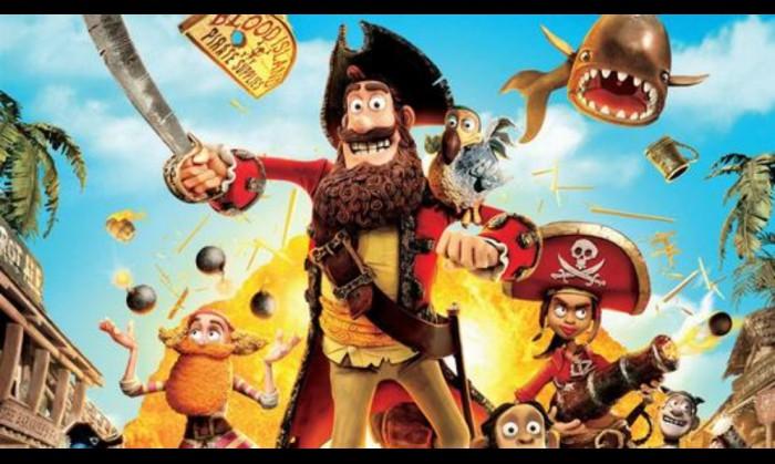 周六电影时光:《神奇海盗团》
