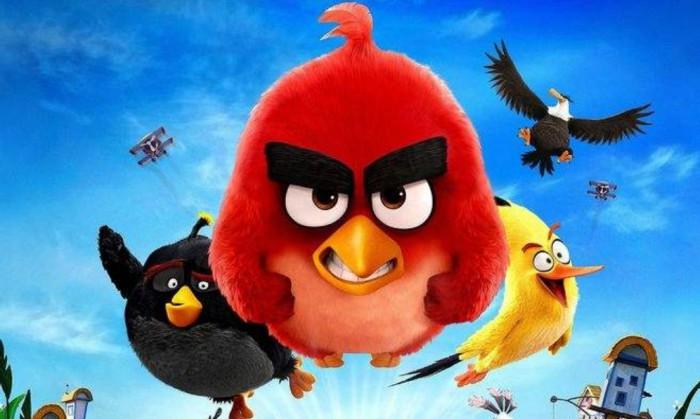 周六电影时光——《愤怒的小鸟》1